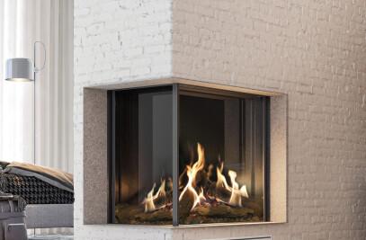 "MatriX Gas Fireplace (45-3/8"" W | Left-facing)"