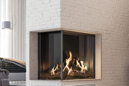 "45-3/8"" W MatriX Gas Fireplace | Left-facing"