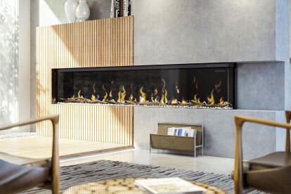 "IgniteXL® BOLD 100"" Linear Electric Fireplace"