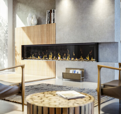 "IgniteXL® BOLD 100"" Linear Electric Fireplace"
