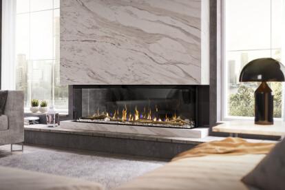 "IgniteXL® BOLD 60"" Linear Electric Fireplace"