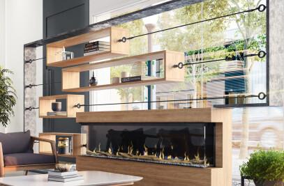 "IgniteXL® BOLD 88"" Linear Electric Fireplace"