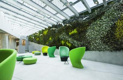 Park Town II - Indoor vertical garden