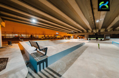Skatepark  SPOTUNDERMOSTOM
