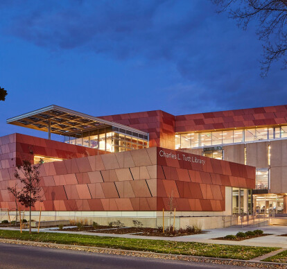 Colorado College Tutt Library Expansion