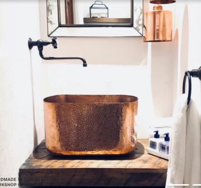 Lola Copper Sink