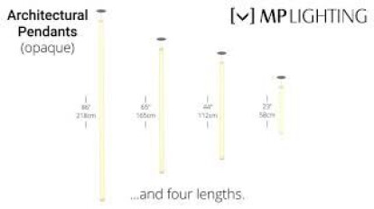 Architectural Pendants (Opaque Series) - MP Lighting