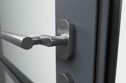 MHB Steel door handles