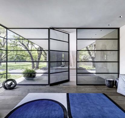 MHB Steel pivot windows and doors