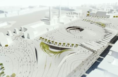 Qibla Plaza Urban Design Competition