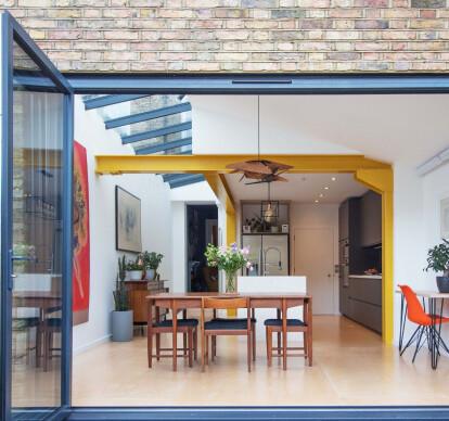 Yellow Steel House