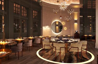 CoCoCo Restaurant in St. Petersburg