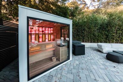 Outdoor Combination Sauna