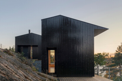 Oslo cabin takes a sensitive position on steep terrain