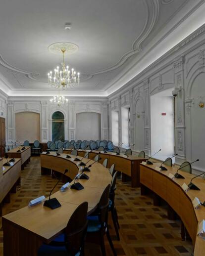Modernization in the Town Hall of Jelenia Góra