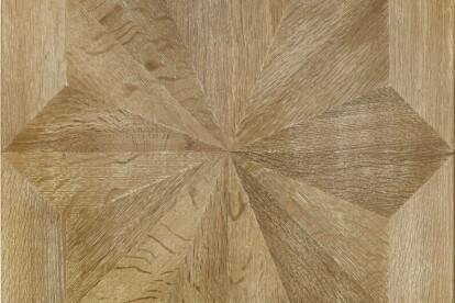 Oak pattern inlay