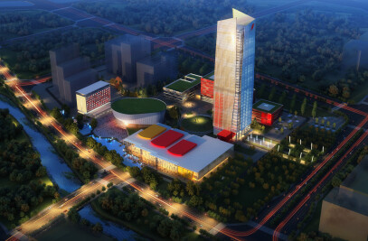 Broadcast Centre For Shanxi Province