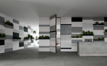 Linvisibile - Alba - Infinito 10 Hinged Door - Ceramic finish