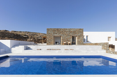A modest retreat in sifnos island