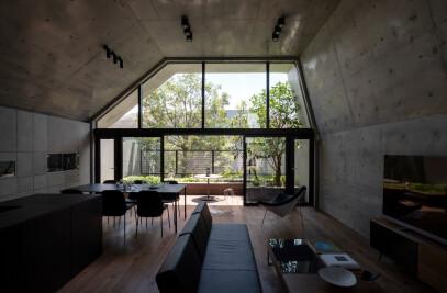 Concrete Shell House
