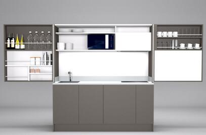 Pop-up kitchen PIA VISS L