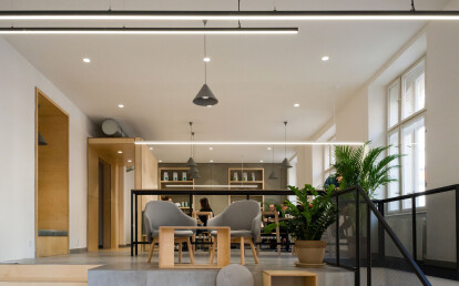 3035 extrusion - Lighting fixtures can be combined to form lighting strings