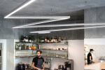 KRO Kitchen, Luxifer s.r.o, Alumia cz s.r.o. 3035 extrusion - Lighting fixtures can be combined to form lighting strings
