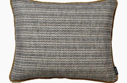 Cushion Kelim Frame mustard  50x40 