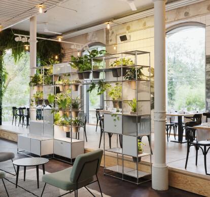 WORLD OF PLANTS FOR USM HALLER | Bookcase