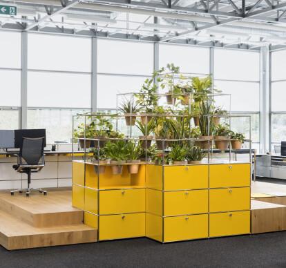WORLD OF PLANTS FOR USM HALLER | Office storage unit
