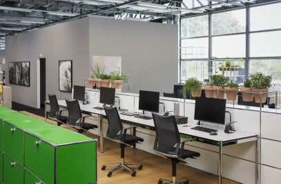 WORLD OF PLANTS FOR USM HALLER | Office storage unit
