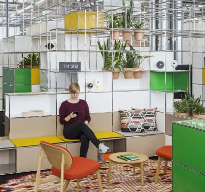 WORLD OF PLANTS FOR USM HALLER | Reception area