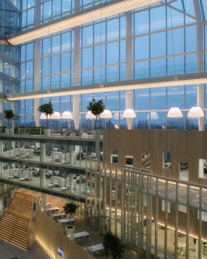 Deloitte headquarter, Edge building / Amsterdam