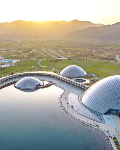 Taiyuan Botanical Garden Domes