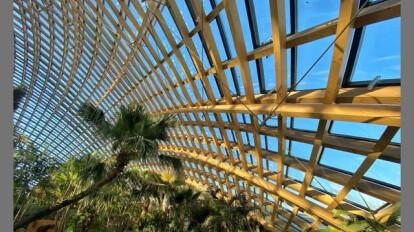 Taiyuan Botanical Garden Domes - Casting Design