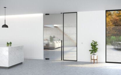Portapivot glass with DG.10 1130 mm door handle