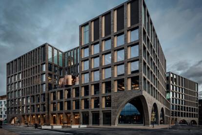 Helsinki's Urban Environment House balances modern with archaic