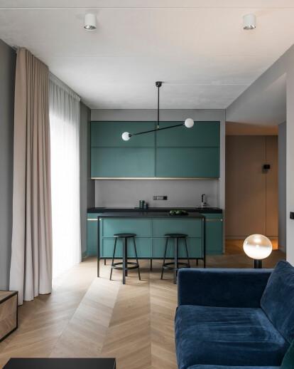 Apartment interior in Basanavičius street