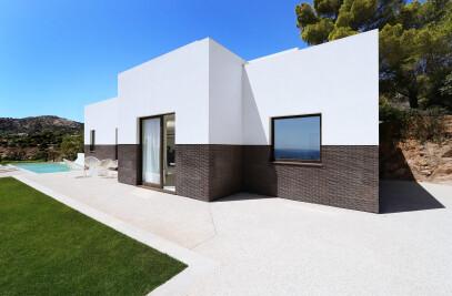 House along Sardinia's South Coastline