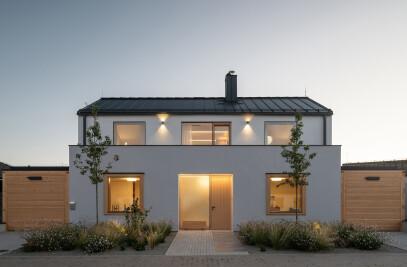 Family House With Atrium
