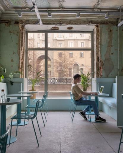 Zerno coffee shop