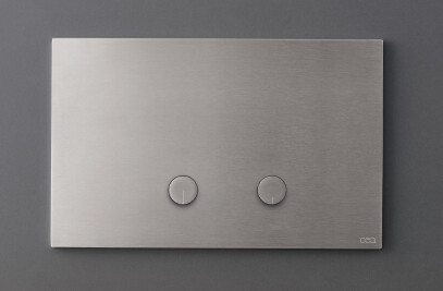 PLA01 - Plate for dual flush Geberit cistern with relief buttons