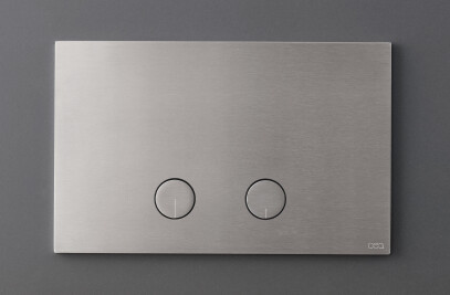 PLA02 - Plate for dual flush Geberit cistern with flush buttons