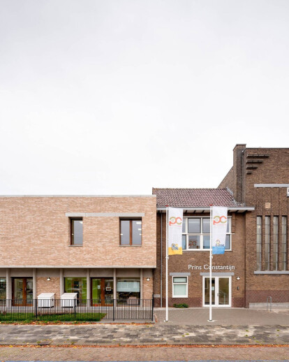 Children's centre in the Netherlands integrates old and new with thoughtful materials, detailing and spatial design