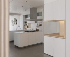an open living area