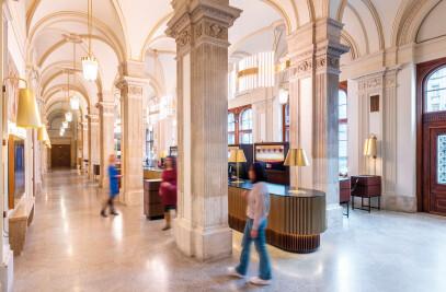 Besucherzentrum in der Wiener Staatsoper