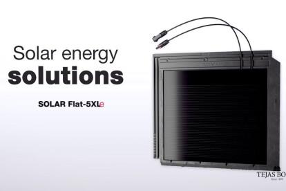 SOLAR FLAT-5XL ceramic roof tile