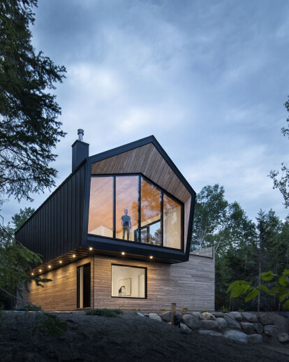 Contemporary Quebec home inspired by the spectacular Charlevoix region