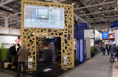 Bruag Exhibition Booth Swissbau 2018