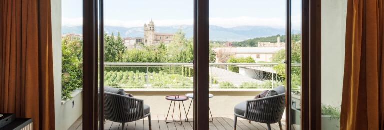 Hotel Marques de Riscal - design by César Caicoya